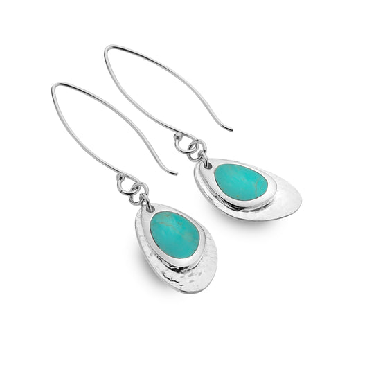 Turquoise cove rockpool earrings