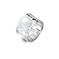 Moonstone Treasure Ring