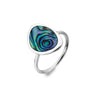 Paua Shell Rockpool Ring