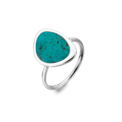 Turquoise Rockpool Ring