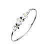 Daisy Cluster Bangle