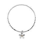 Weathered Daisy Bangle