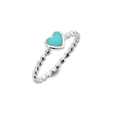Turquoise summer love ring
