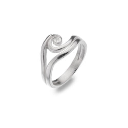 Wave Swirl Ring