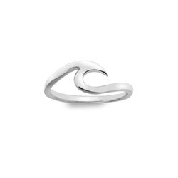 Glassy Wave Ring