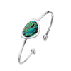 Paua shell rockpool bangle