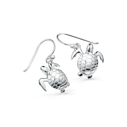 Reef turtle earrings