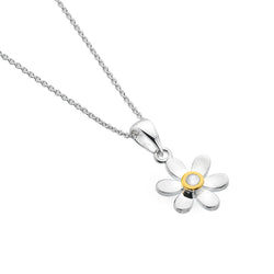 June birthstone daisy pendant