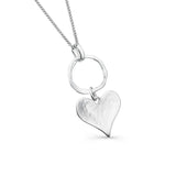 Cornish heart pendant