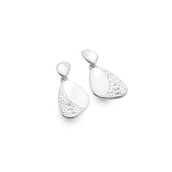 Porthmeor pebble earrings