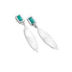 Wanderlust amazonite earrings