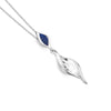 Ebb And Flow Lapis Pendant