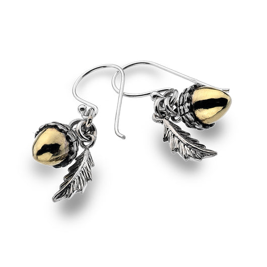 Photo of Fallen acorn earrings