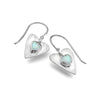 Forever opalite heart earrings