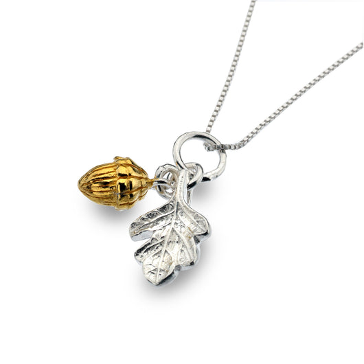 Photo of Oak leaf & acorn pendant