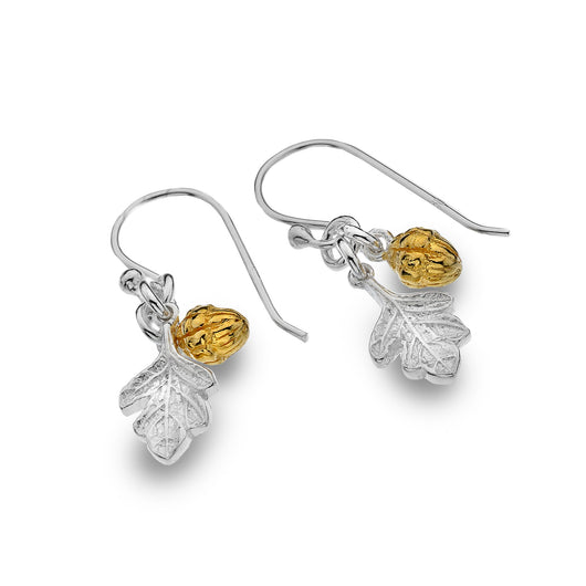 Photo of Oak leaf & acorn earrings