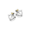 Photo of Anchor of love studs