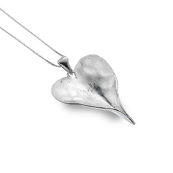 Leaf Heart Pendant