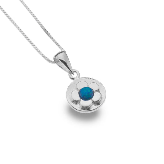 Photo of Little blue daisy pendant