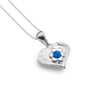 Photo of Blue love flower pendant