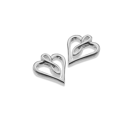 Photo of Infinite love heart studs