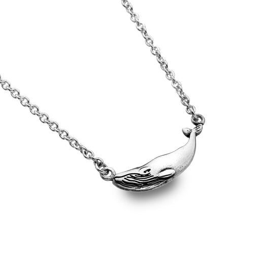 Ocean whale necklace