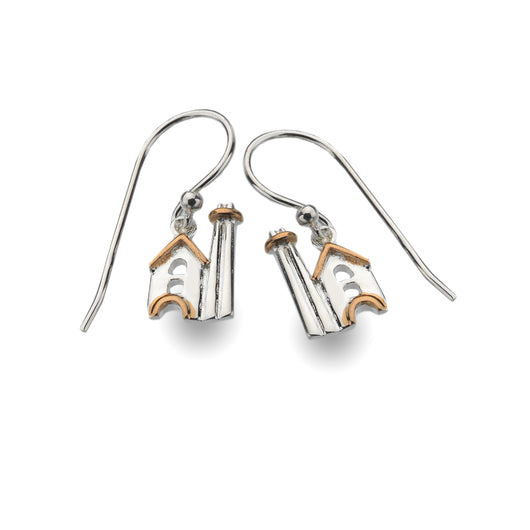 Cornish Tin Mine Earrings