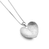 Heart-Shaped Leaf Pendant