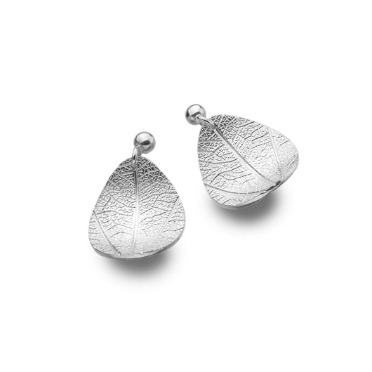 Curved Leaf Stud Drops