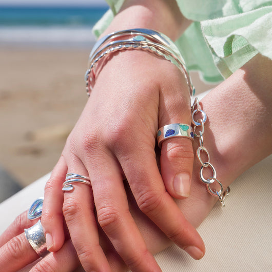 Blue shores ring