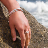 Set Wave Ring