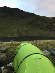 Ollie Collie Camping Lake District Micro Adventure