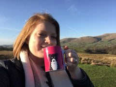 Ollie Collie Mug Fell Walk Micro Adventure
