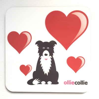Original Ollie 'Love' Coaster