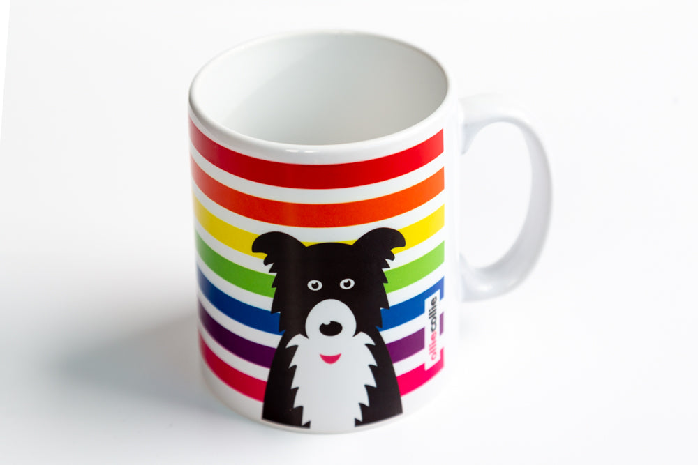 Rainbow Ollie Ceramic Mug