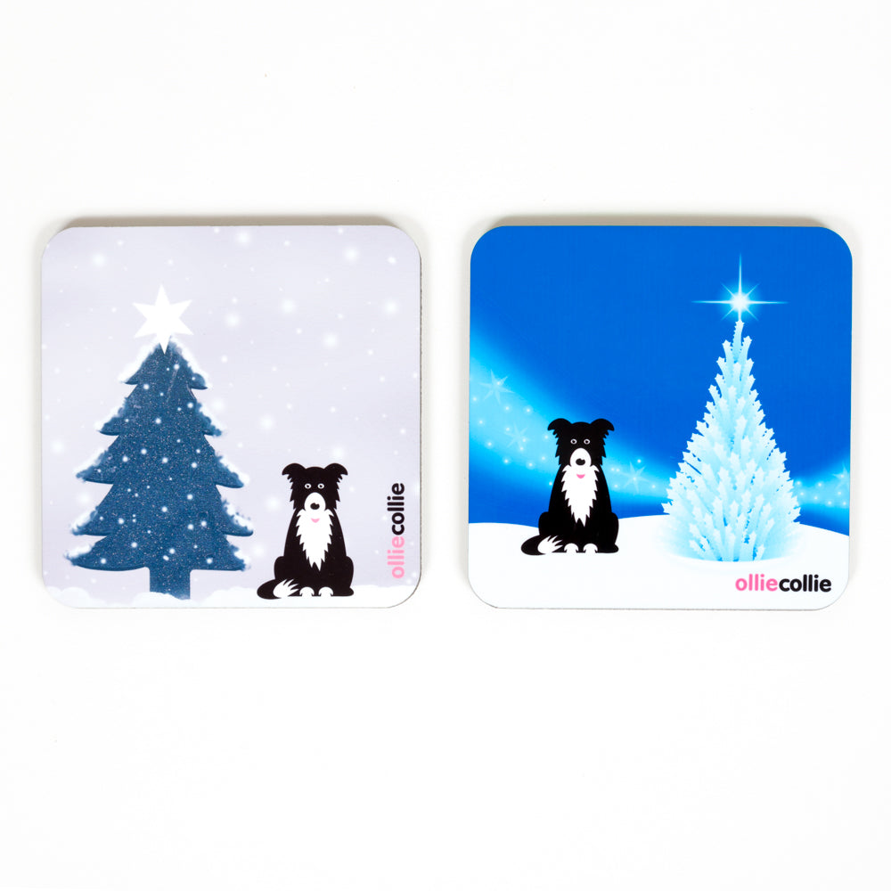 Original Ollie Christmas Coaster Set