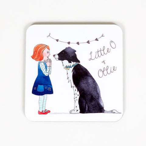 Little O & Ollie Original Design Coaster