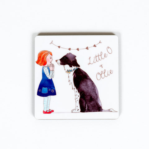 Little O & Ollie Original Design Fridge Magnet