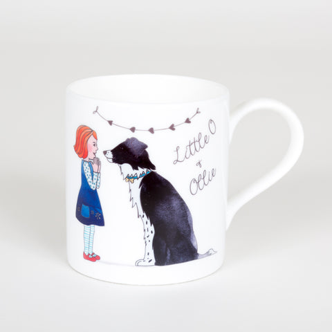 Little O & Ollie Bone China Original Design Mug