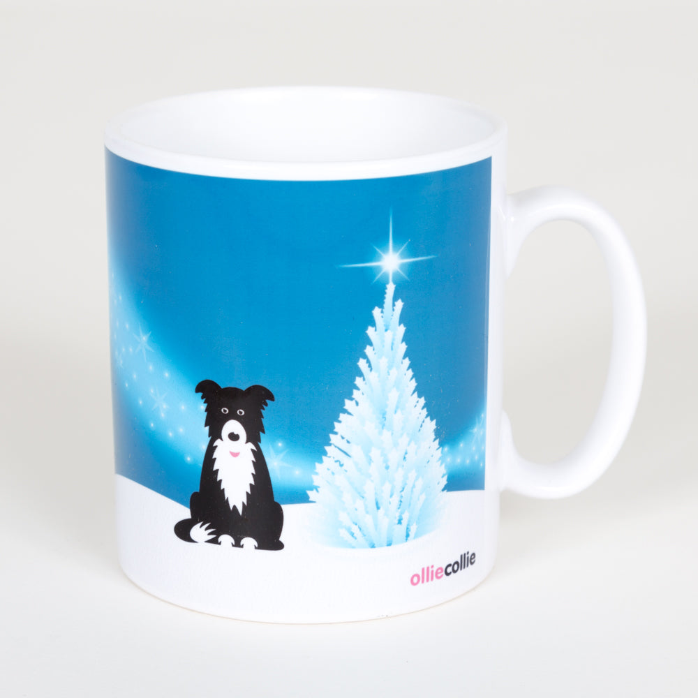 Original Ollie Christmas Mug Blue