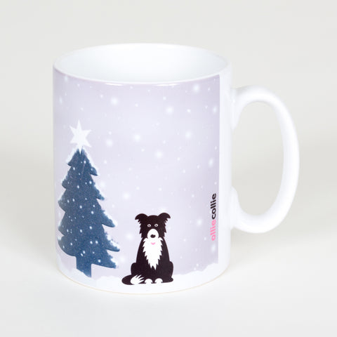 Original Ollie Christmas Mug Grey