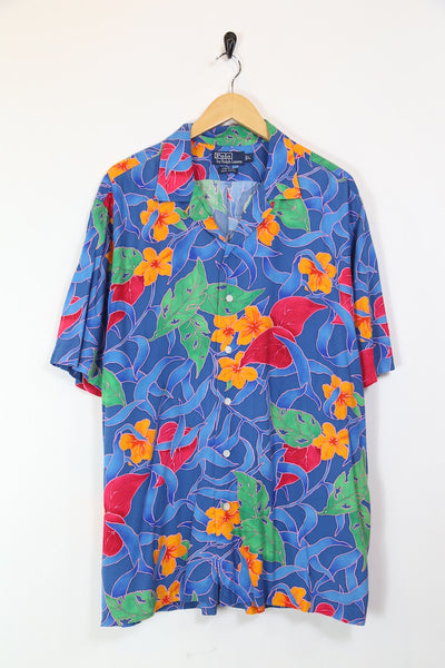 Men's Ralph Lauren Hawaiian Print Shirt - Multi XL