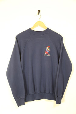 Men's Taz Looney Tunes Sweatshirt - Blue L