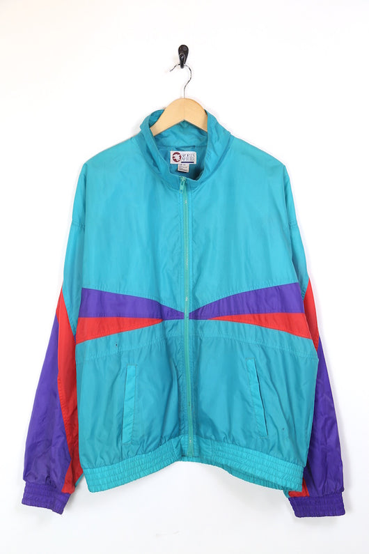 Men's Windbreaker Panelled Jacket - Multi XL