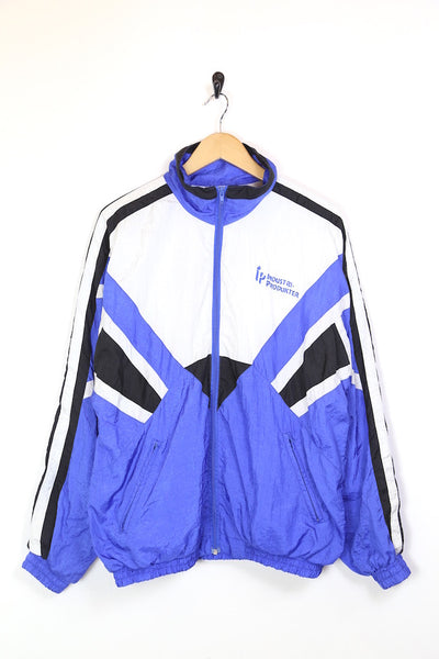 Men's Windbreaker Jacket - Blue L
