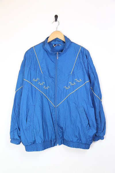 Women's Windbreaker Jacket - Blue XL
