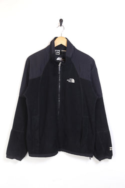 1990s Men's The North Face Fleece Jacket - Black M