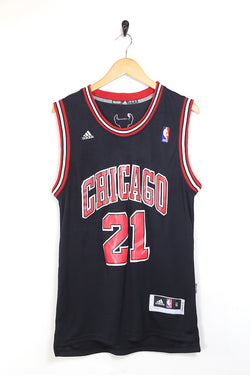 2000s Men's Chicago Bulls Basketball Vest - Black S