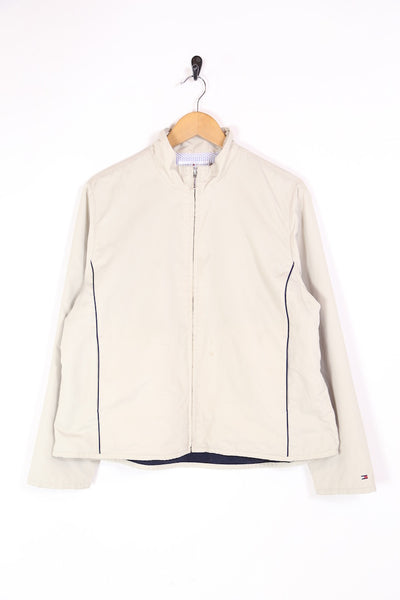 2000s Women's Tommy Hilfiger Golf Jacket - Cream XL