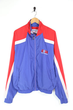 2000s Men's Champion USA Special Olympics Jacket - Blue L